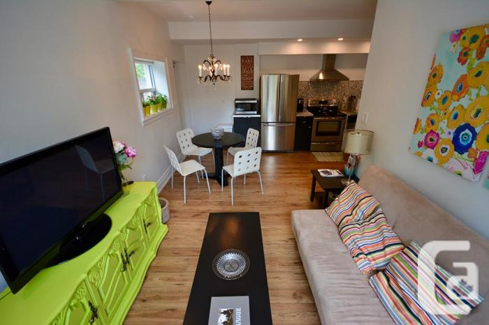 Amazing Open Concept, Fully Furnished 2 Bedroom Main