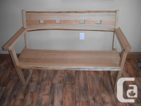 AMERICAN CHESTNUT Live Edge Rocking Bench - $1400