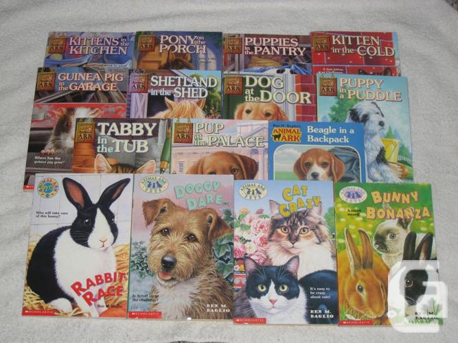 ANIMAL ARK - CHILDRENS BOOKS - GREAT SELECTION -