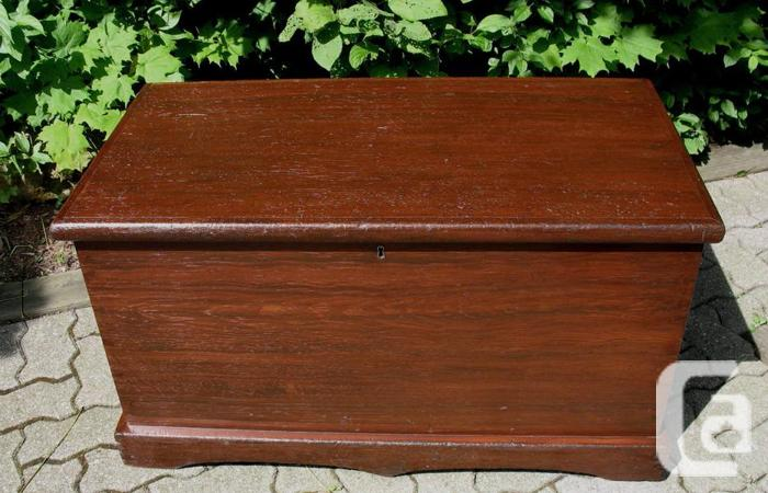 Antique Canadiana Blanket Box, Bench or Coffee Table