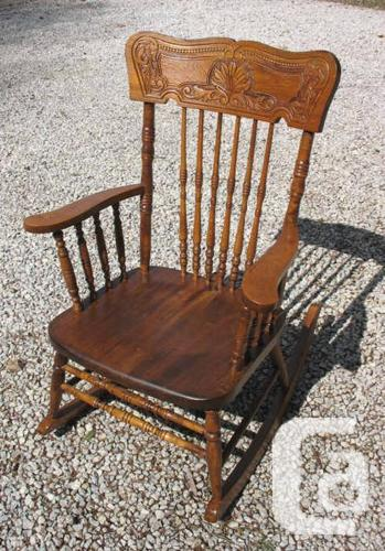 Antique Canadiana Rocking Chairs / Rockers for sale in Senneville ...