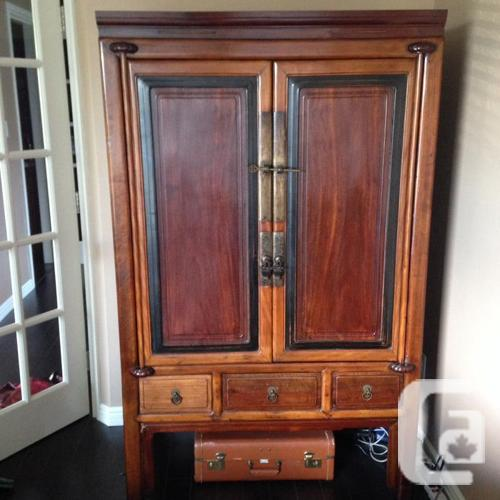 Antique Chinese Cabinet/Wardrobe