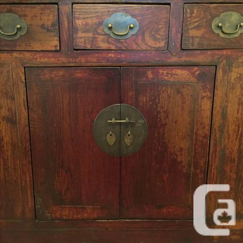 Antique chinese cabinet for sale in victoria british for Furniture victoria bc