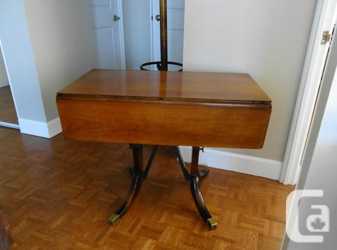 Awesome Antique Dining Coffee Drop Leaf Table In Victoria British Columbia For Sale Download Free Architecture Designs Rallybritishbridgeorg