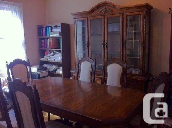 Antique Dining Room Set - $600 OBO - $600