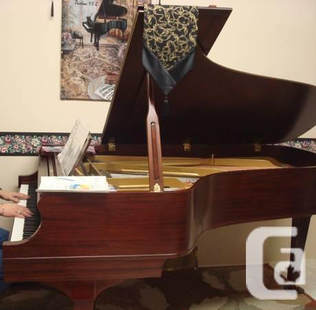 Antique Grand Piano: Heintzman Semi-Grand