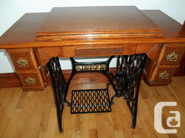selling antique singer sewing machine