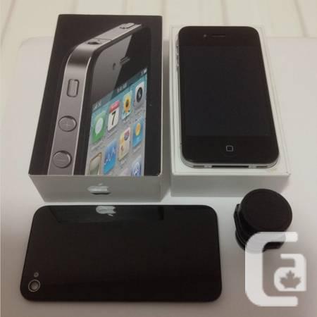 Apple iPhone 4 32GB, (Black), iOS 7.1.1, Unlocked -