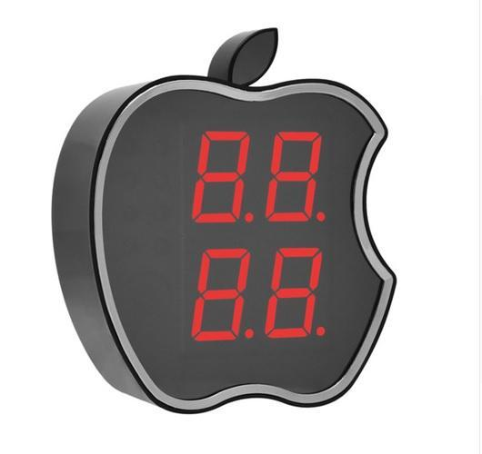 Apple Shape  Clock Alarm Security Wifi IP Camera HD