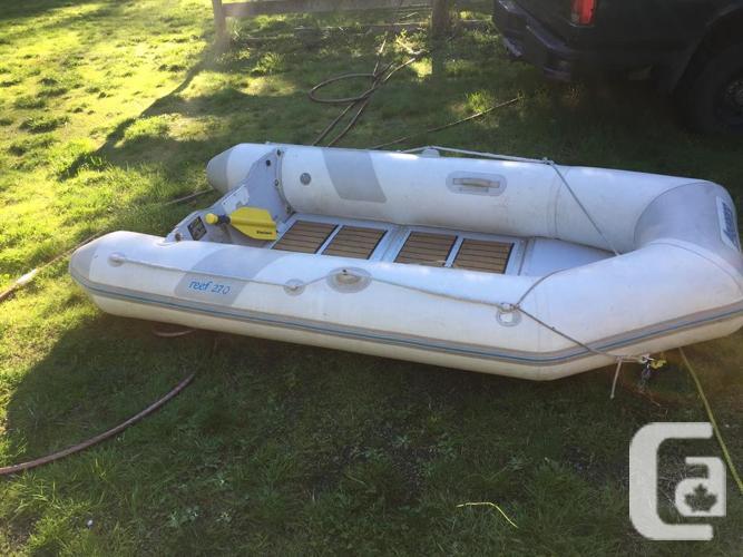 Aquapro 8 foot dingy inflatable
