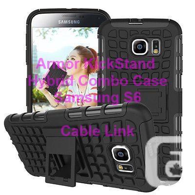 Armor KickStand Hybrid Case for Samsung Galaxy S6