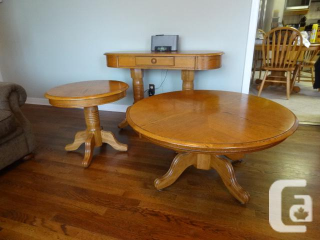Ashley coffee-table collection - 3-Piece - Excellent