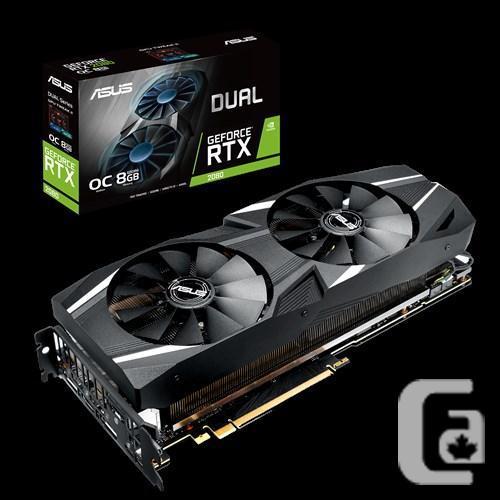 ASUS GeForce RTX 2080 O8G OC GDDR6 DUAL-RTX2080-O8G