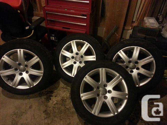 Audi A4 Avant wheels and winter tires