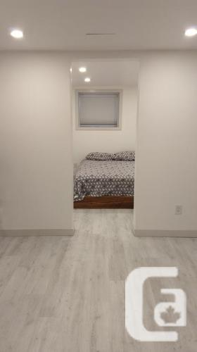 August 1st New one-bedroom suite for rent,
