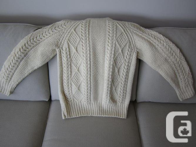 Authentic Irish Fisherman Knit Sweater