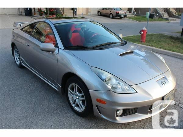 Automatic 2004 Toyota Celica TSUNAMI GT