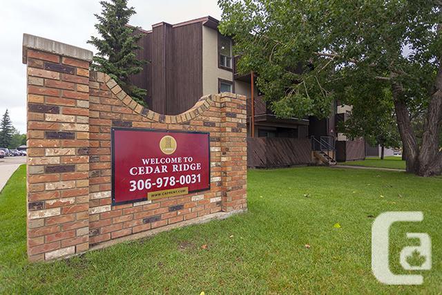 Avail feb wow 3 bedrooms saskatoon cedar ridge apartments for Cedar ridge storage