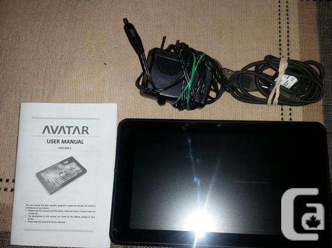"Avatar 7"" Tablet. Works great. Wi-Fi; loads of"