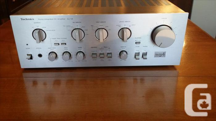 Awesome Technics SU-V8 New Class A Integrated DC