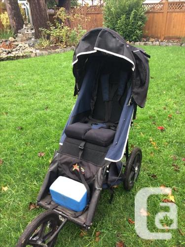 Axiom 2 special needs jogger stroller with rain cover