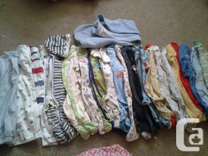 baby boy lots of newborn-3mths clothing for sale in Regina ...