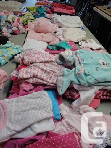 Baby clothing garage sale