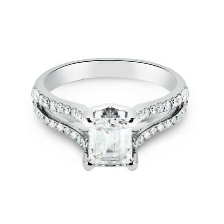 Bague de mariage en diamants  Great diamond ring she will love -  ...