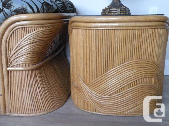 Bamboo 5 piece Living Room set