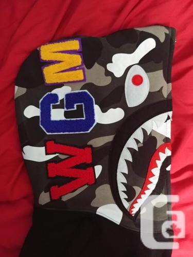 Bape City Shark Camo Hoodie