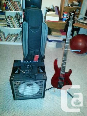 Bass Guitar/ Amp Bundle! - $600