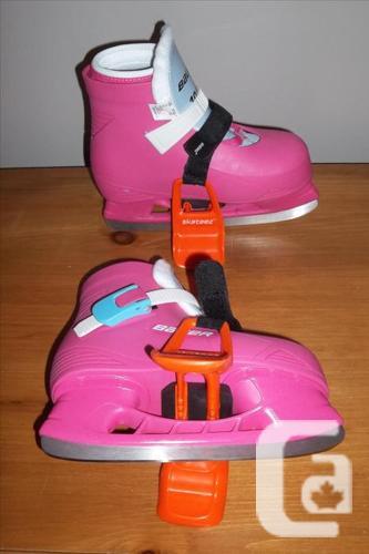Bauer Lil Angel II Girls' Ice Skates size 10/11 &