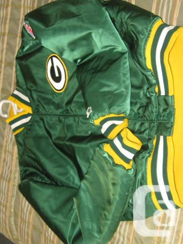 Bay Packers classic beginning coat - XL Youth