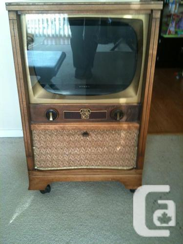 Beautiful Reclaimed Antique Tv Cabinet With A Modern Twist For Sale In Victoria British