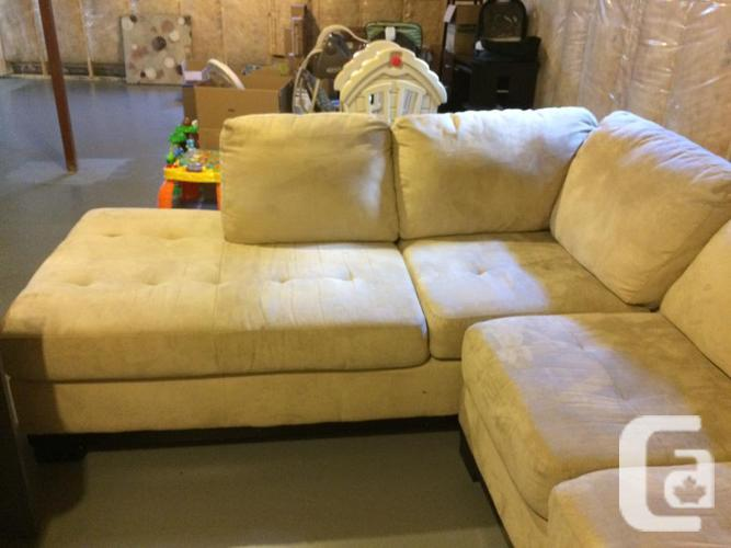 Beige Sectional, originally from The Brick, great
