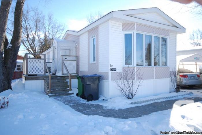 Belle maison mobile 1996 St-Jean-sur-Richelieu