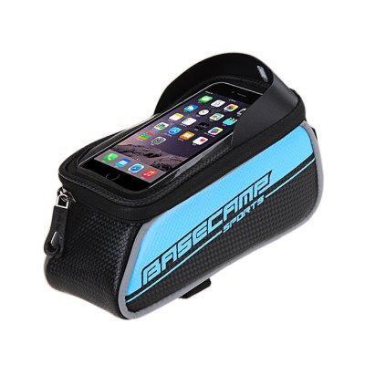 """Bicycle Bike Frame Phone Bag - 1.5L 4.7"""" - Blue"""