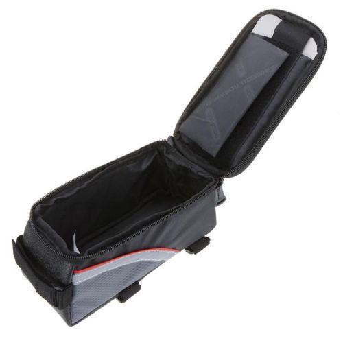 Bicycle Bike Frame Phone Bag - 1.5L - Red