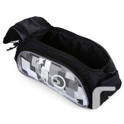 Bicycle Bike Rear Rack Top Bag with Rain Cover 10L -