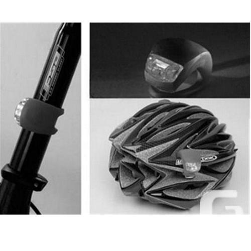 Bicycle Bike Safety LED Light - Black