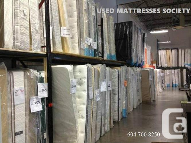 BIG SELECTIONS OF USED MATTRESSES MORE THE 1000