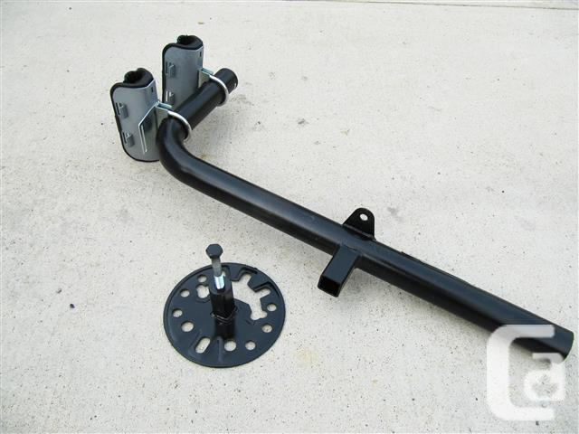 Bike Rack ~ spare tire mount design