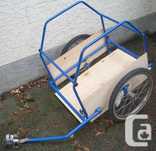 Bike Trailer - NEW paint and Wood