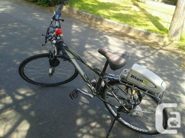 Bion X Electric / 94 Voyageur Cargo Van /Moped