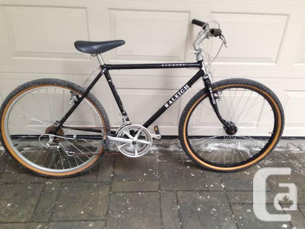 Black 12 Speed Raleigh Bighorn Bicycle - $200