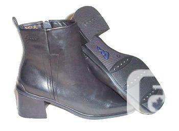 Black Ankle Boots - NEW - Size 8.5 / 9
