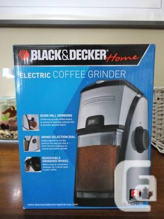 Black & Decker Burr Mill Coffee Grinder - $30