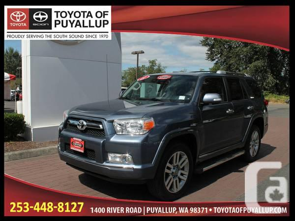 Blue Gray 2011 Toyota 4Runner Limited 4X4