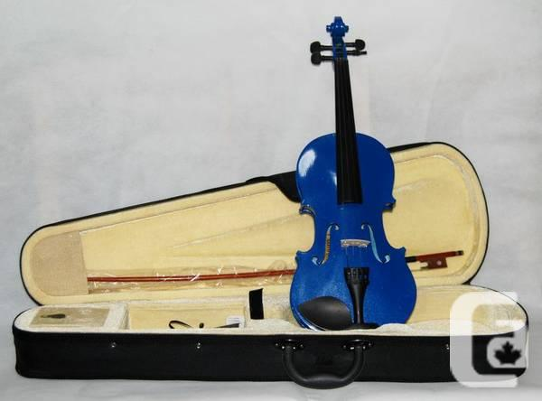 blue violin full size and 3 4 size for sale in toronto ontario classifieds. Black Bedroom Furniture Sets. Home Design Ideas