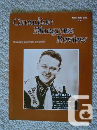 Bluegrass magazines, older. - $1
